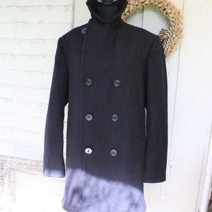 Other - Vtg. Military Wool Pea Coat Sz 40L